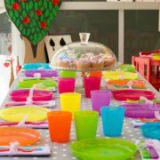 tavola festa bambini
